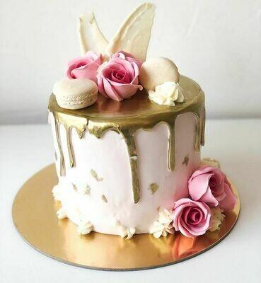 Rose Theme Cake