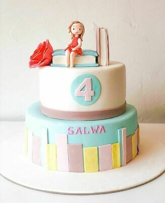 Book Lover's Cake - 3D