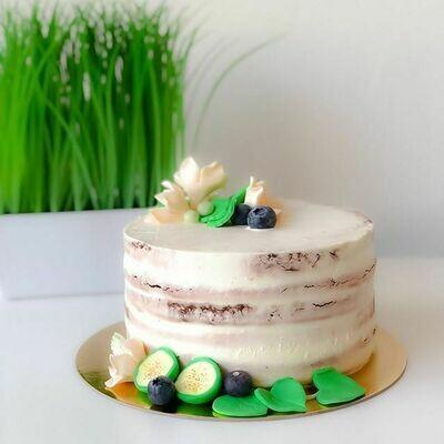 Minimalistic Naked Cake