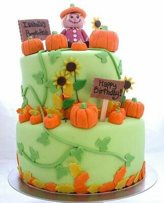 Pumpkins Theme Cake