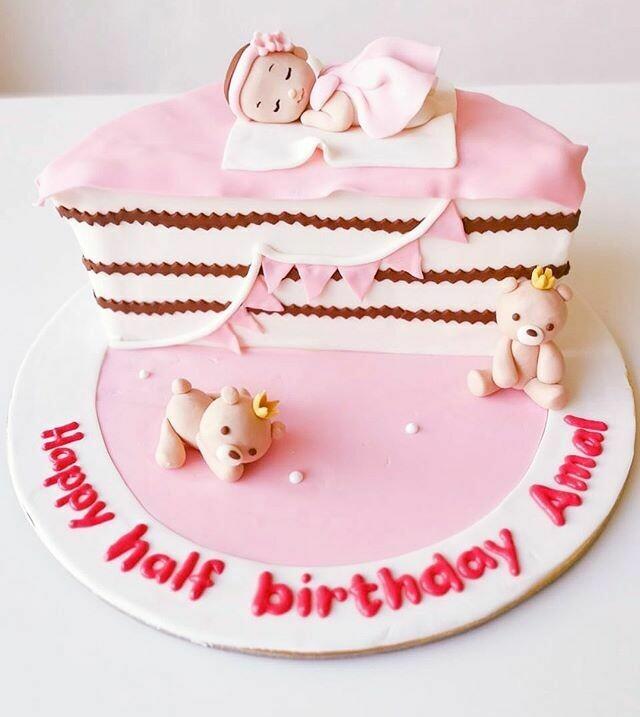Half Birthday - Baby Girl