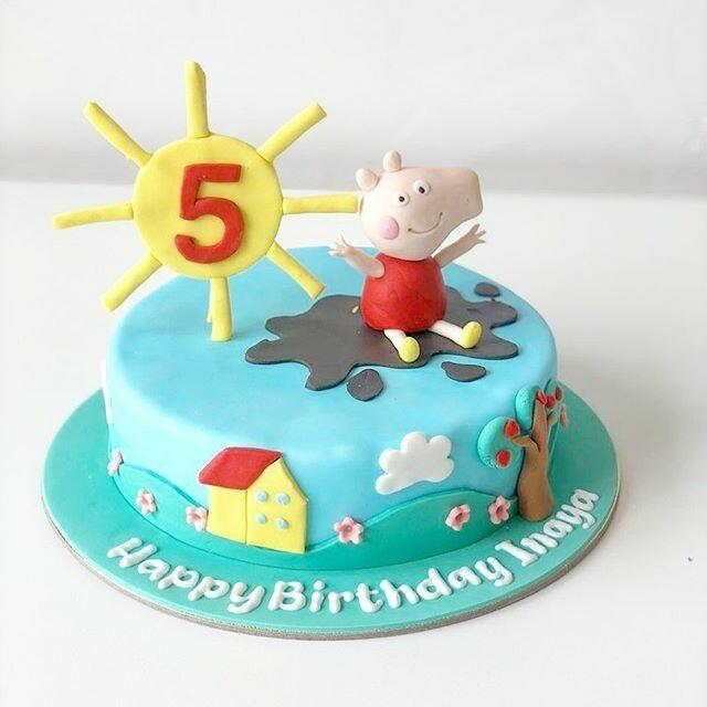 Peppa Pig Cake - 3D