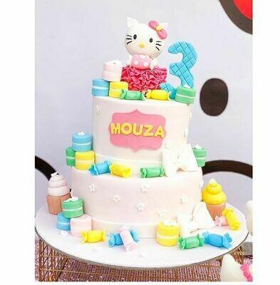 Hello Kitty 2 Tier Cake