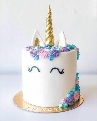 Unicorn tall cake