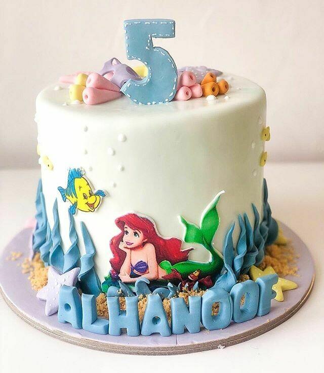 Mermaid/Sealife Cake