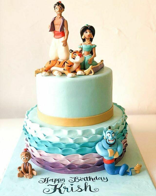 Aladdin Cake - 3D
