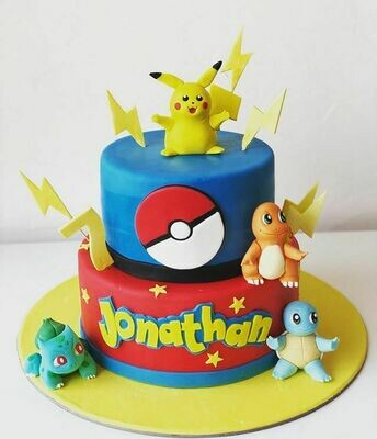 Pokemon Cake - 3D