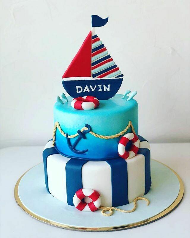 Sailor/Boat Cake
