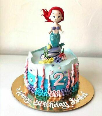 Mermaid Cake - 3D