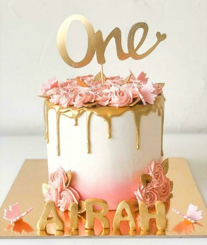Rose & Gold Cake