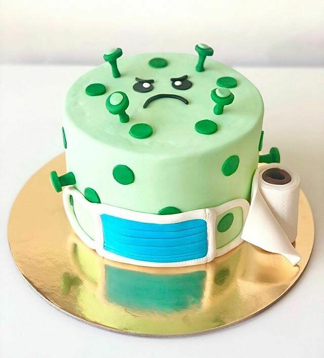 Covid-19 Theme Cake