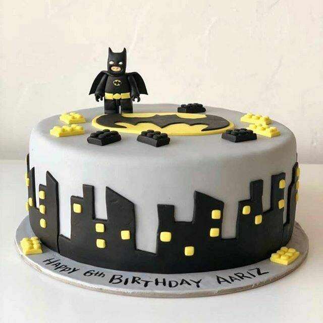 Bat Man Cake - 3D