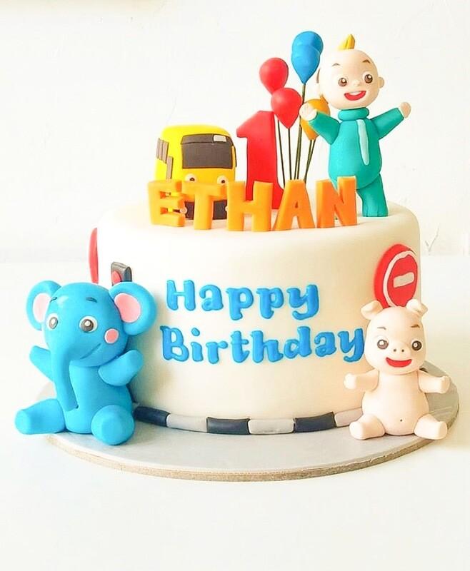 Cute 1st Birthday Cake