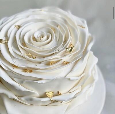 Flower Shape Cake