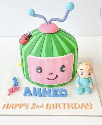 CocoMelon Cake - 3D