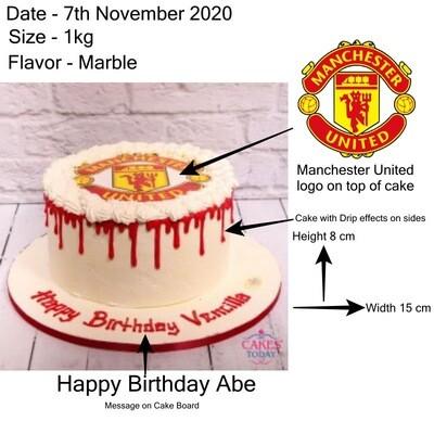 Special 7th November Cake