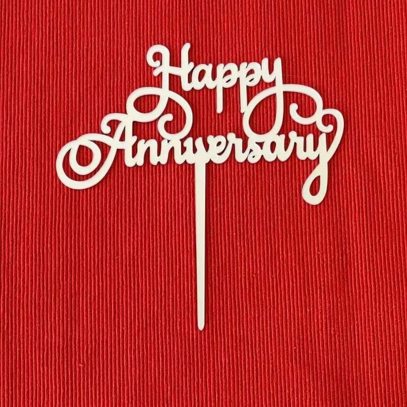 Happy Anniversary in Silver