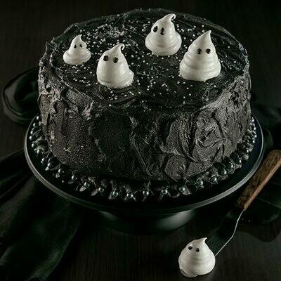 Halloween Special Black Cake