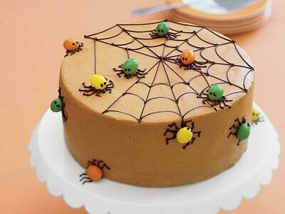 Halloween Special Spider Cake