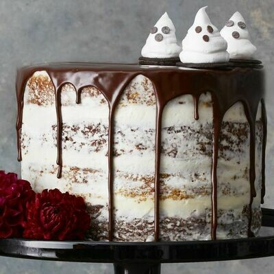Halloween Special Drip Cake