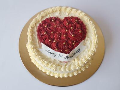 Fresh Buttercream Cake