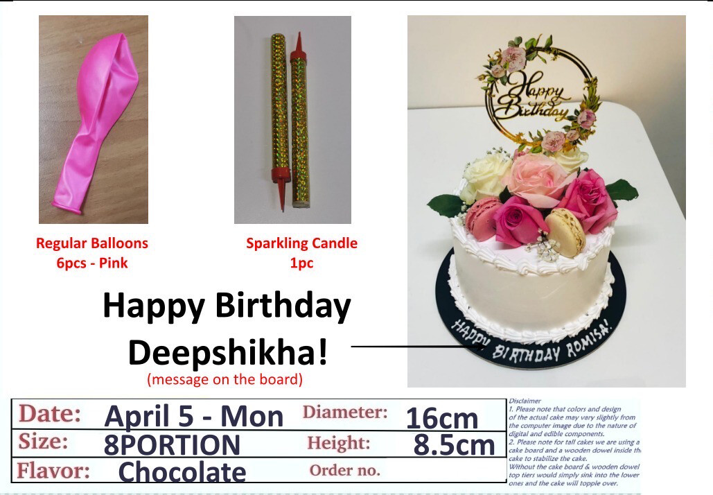 Special Request Customized Cake