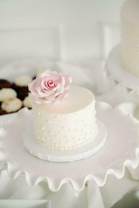 Flower Butter Cream Cake