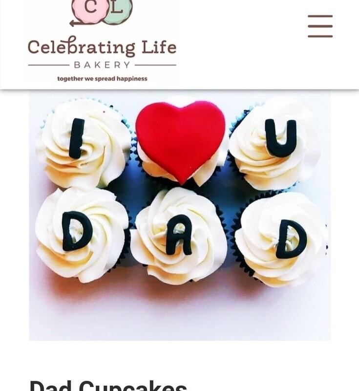 special request dad cupcakes