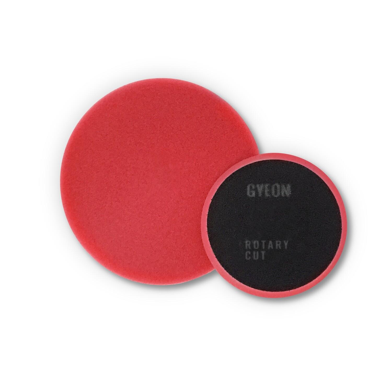 Полировальный круг Средней твердости GYEON ROTARY CUT Поролоновый Красный комплект (80мм х2)