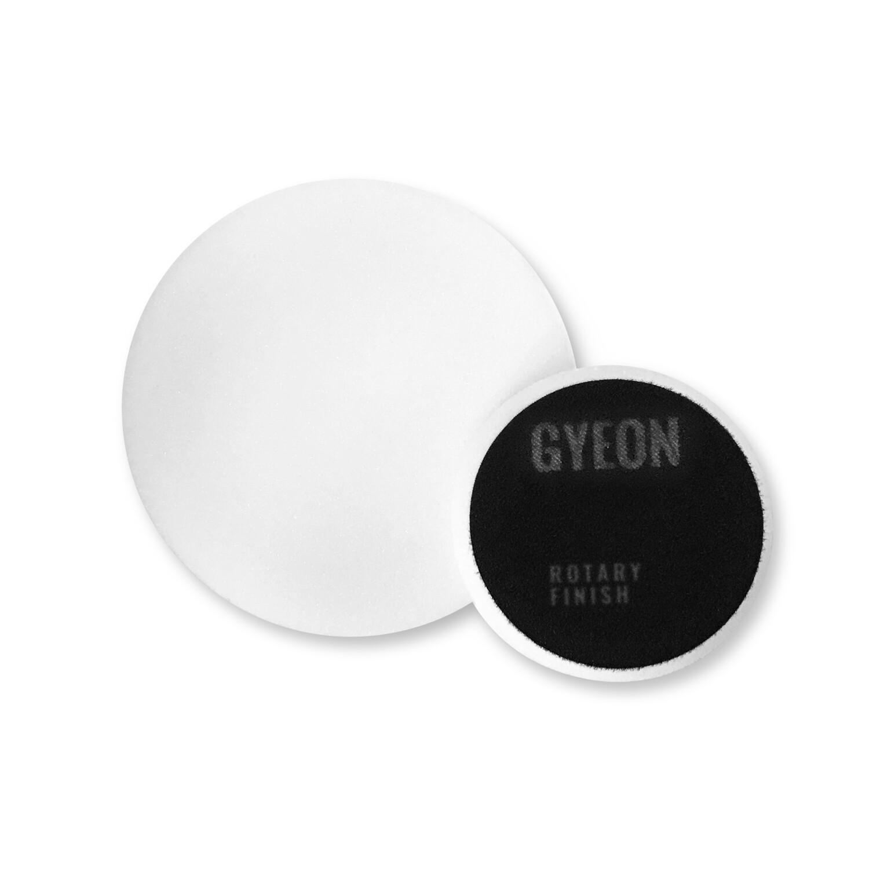 Полировальный круг Очень мягкий GYEON ROTARY FINISH Поролоновый Белый комплект (80мм х2)