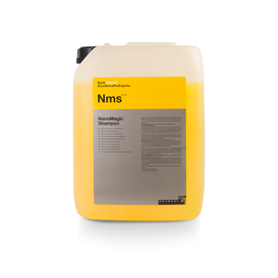 Шампунь для Ручной мойки и консервант Koch Chemie Nms NANOMAGIC SHAMPOO (10л)