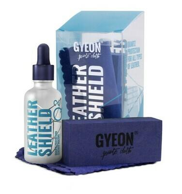 Керамическое покрытие для кожи GYEON LEATHER SHIELD (50мл) Увеличивает стойкость к загрязнениям на 12 мес