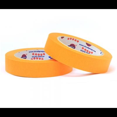 Малярный скотч лента EUROCEL Оранжевый (50мм х 40м)
