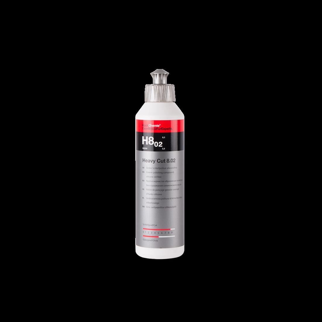 Полировальная паста Высокоабразивная Koch Chemie H8.02 HEAVY CUT (250мл)