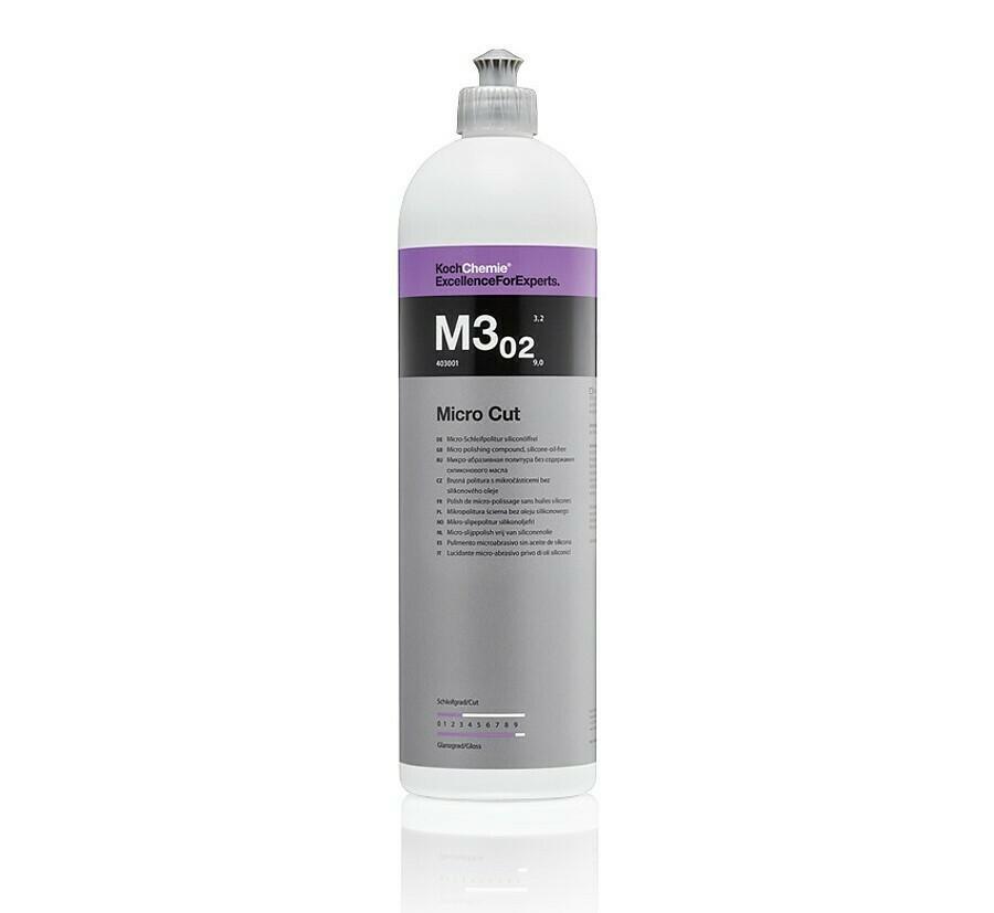 Полировальная паста Микро-абразивная Koch Chemie M3.02 MICRO CUT (1л)