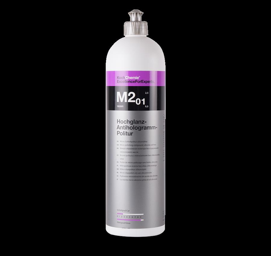 Полировальная паста Антиголограммная Koch Chemie M2.01 HOCHGLANZ-ANTIHOLOGRAMM-POLITUR (1л)