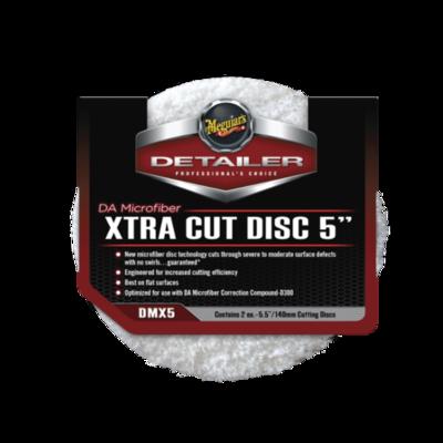 Микрофибровый Полировальный круг Экстра Режущий Meguiars XTRA CUT DISC 5 (140мм) Комплект (2шт)
