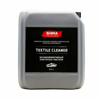 Очиститель текстиля SHIMA DETAILER TEXTILE CLEANER (5л) Высокоэффективный