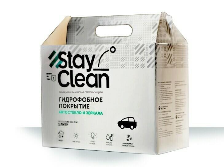 Антидождь Гидрофобное покрытие для стекол StayClean (1л)