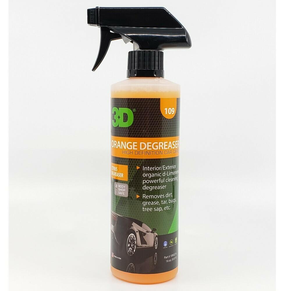 Универсальный очиститель с ароматом апельсина 3D Car Care ORANGE CITRUS DEGREASER, 470мл