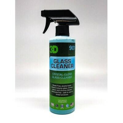 Очиститель для стекол, зеркал 3D Car Care GLASS CLEANER, 470мл