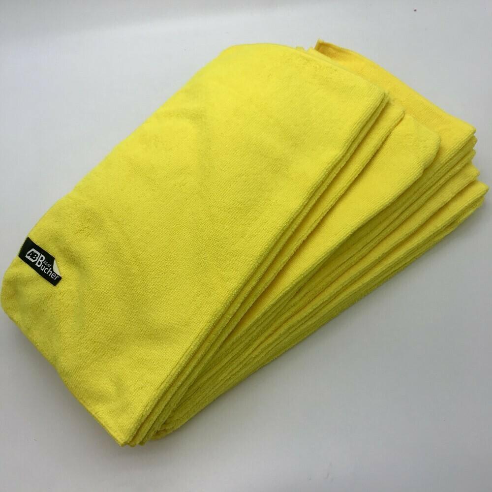 Салфетка из микрофибры Классик Желтая Adolf Bucher 250гр, 40х40см (20шт)