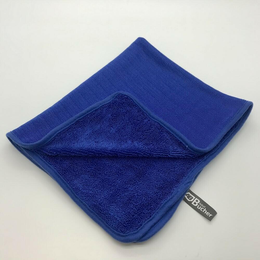 Полотенце для сушки кузова Темно-синее Adolf Bucher 550гр, 50х60см