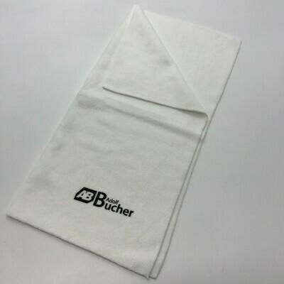 Салфетка из микрофибры бесшовная ПРОФФ Белая Adolf Bucher 350гр, 40х40см