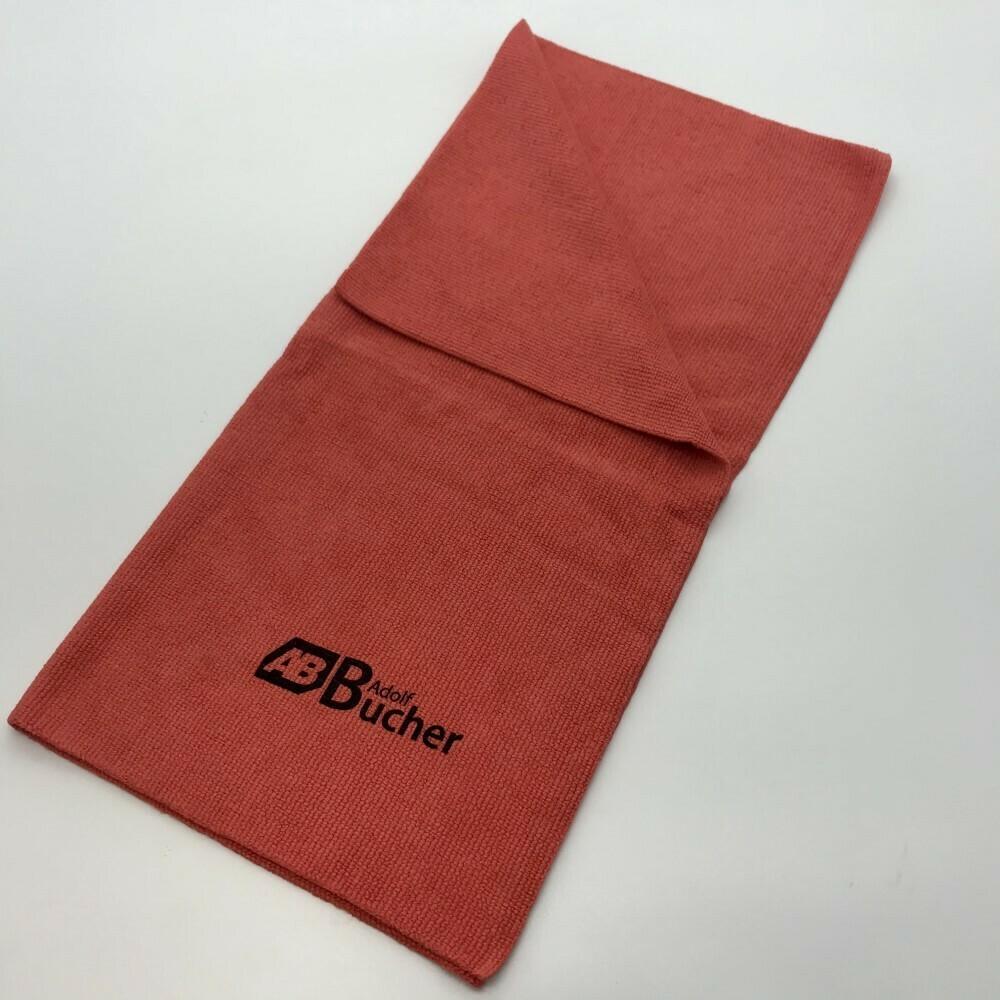 Салфетка из микрофибры бесшовная ПРОФФ Красная Adolf Bucher 350гр, 40х40см