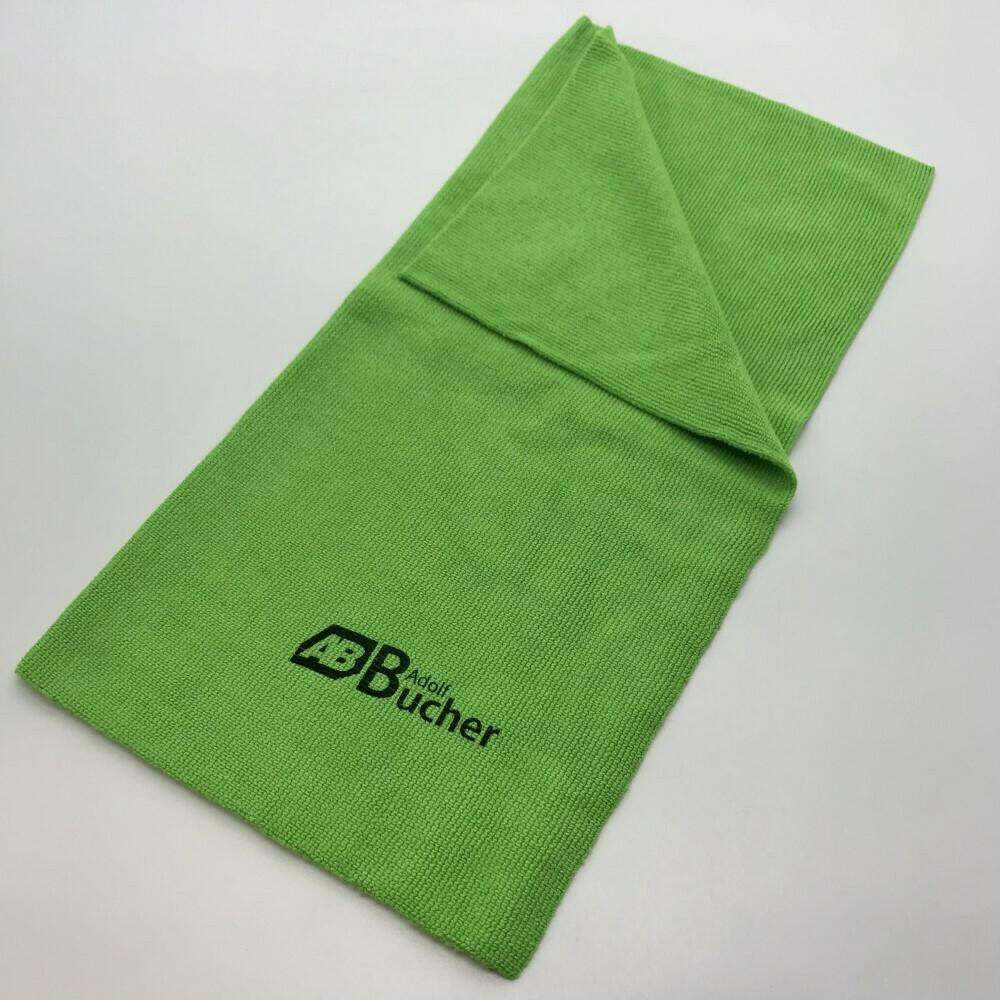 Салфетка из микрофибры бесшовная ПРОФФ Зеленая Adolf Bucher 350гр, 40х40см