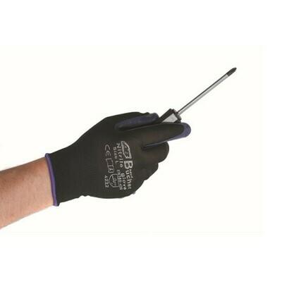Перчатки с пенным пурпурным покрытием премиум класса PURPLE Adolf Bucher, XL