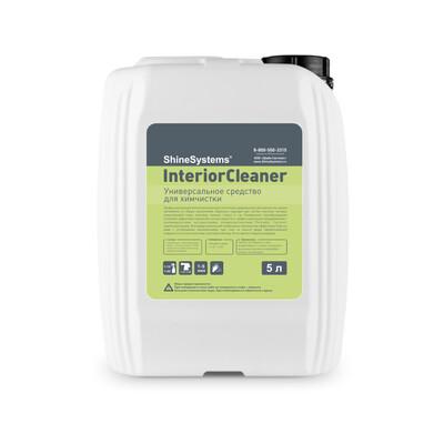 Универсальное средство для химчистки Shine Systems InteriorCleaner, 5л