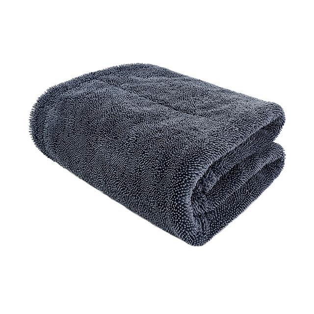 Полотенце для сушки двухслойное мягкое микрофибровое профессиональное PURESTAR DUPLEX DRYING TOWEL, 45х75см