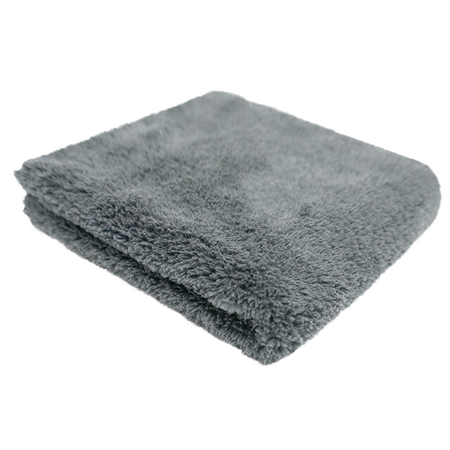 Полотенце без окантовки плюшевое микрофибровое сверхмягкое двустороннее PURESTAR PLUSH BOTH SIDE BUFFING TOWEL, 40х40см